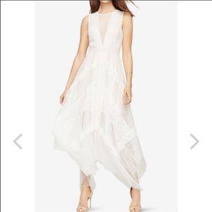 BCBG Andi Lace Dress (white)